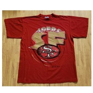 San Francisco 49ers 1993 Vintage Red Shirt XL